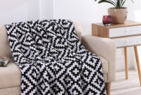 Mantas sofa 87dx Us 42 24 44 Off New Cross Wave Kint Plaids Throw Blankets soft Cotton Manta sofa Couch Bed Plane Travel Tv Baby Blanket Dropshipping 3 Sizes In