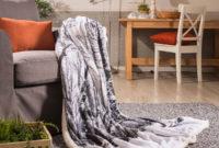 Mantas sofa E9dx Plaid sofà Arlet Blanco