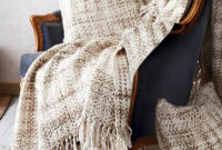 Mantas sofa J7do Blanket for Rustic sofa In Woven Fabric with Fringes