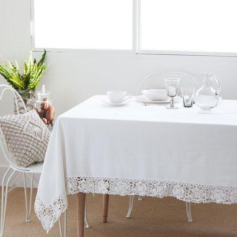 Mantel Antimanchas Zara Home Fmdf Consejos Para Darle Color A Tu Mesa