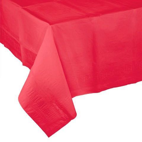 Mantel De Papel 87dx Mantel Rojo Papel La Fiesta De Olivia