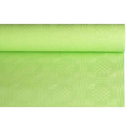 Mantel De Papel Jxdu Mantel De Papel Con Gofrado Damasco 8 M X 1 2 M Verde Limà N