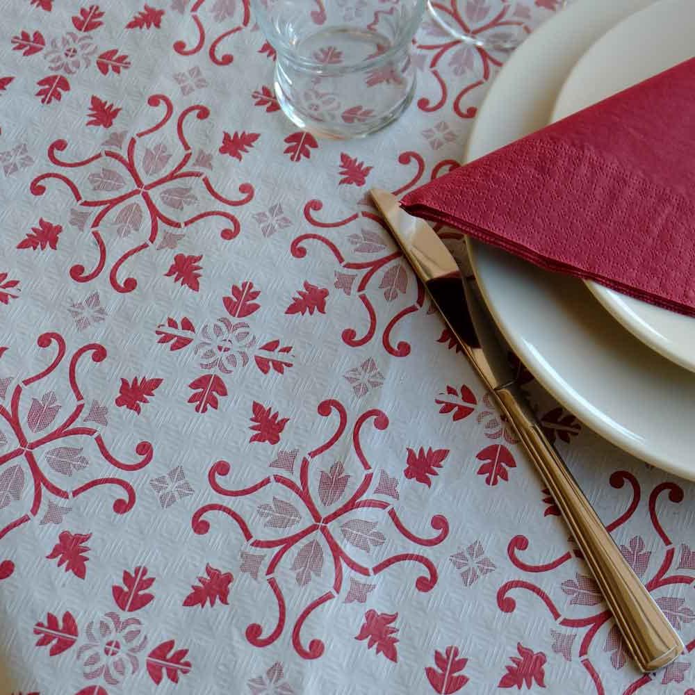Mantel De Papel Txdf Mantel Papel 100×100 Claudia Burdeos Mantel De Papel Grande Para