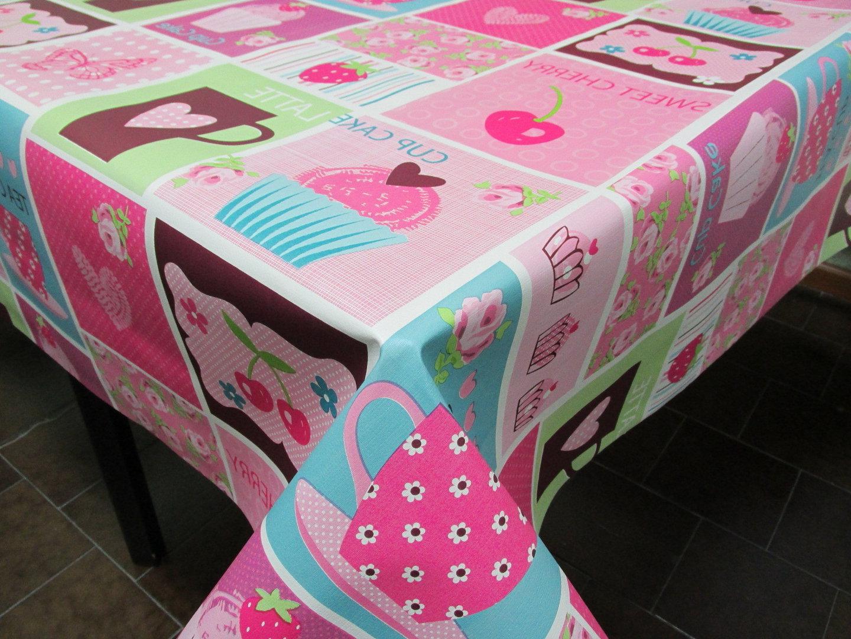 Mantel Hule E9dx Mantel Hule Ref Cupcakes Fucsia Posicià N Pvc