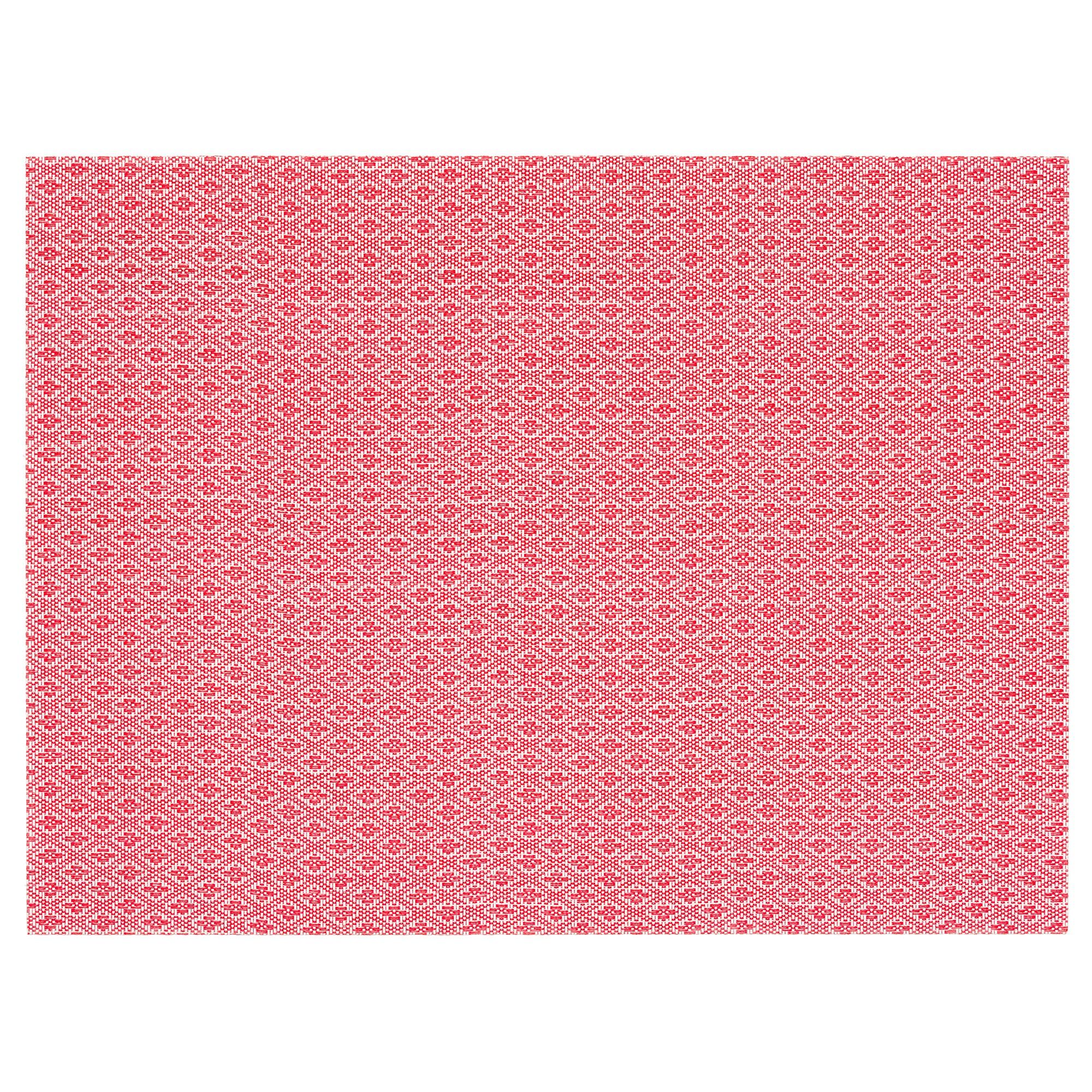 Mantel Individual Dddy Gallra Mantel Individual Rojo Con Diseà O 45 X 33 Cm Ikea