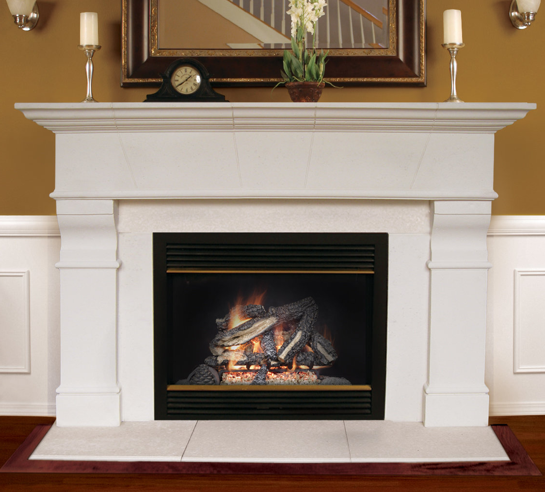 Mantel Ipdd Americast Architectural Stone Roosevelt Fireplace Mantel Surround