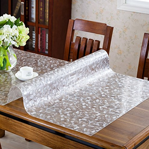Mantel Pvc E9dx Wangchuan Pvc Table Cloth Waterproof Anti Oil Tablecloth