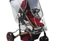 Mantel Pvc S5d8 Kinderwagen Regen Abdeckung Matt Regen Mantel Pvc Universal Wind