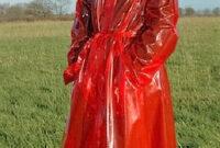 Mantel Pvc Thdr sonntags Nur Im Roten Pvc Mantel Pvc Pinterest Pvc Raincoat