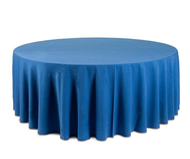 Mantel Redondo Dddy Mantel Redondo Azul Mantelerà A Y Menaje