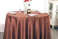 Mantel Redondo Fmdf Pre Tabla Mantel Redondo Para Banquete Wedding Party Decoration