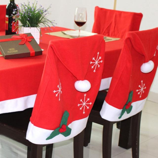 Manteles De Navidad 9ddf 1 Unid Rojo Manteles Navidad AÃ O Nuevo Edor Cubierta De Tabla De