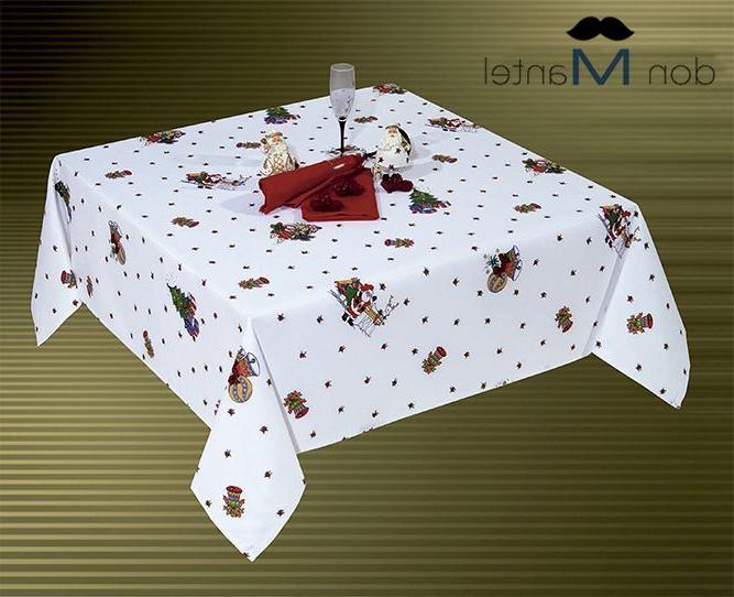 Manteles De Navidad Drdp Mantel Navidad Blanco Rojo Nadal Manteles De Navidad Don Mantel