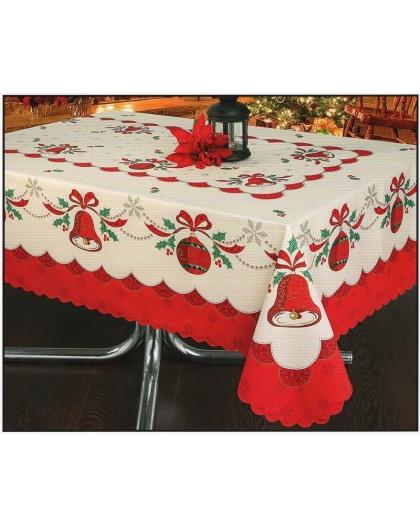 Manteles De Navidad Dwdk Prar Mantel Navidad Rojo Tela 50 Algodà N 50 Poliester