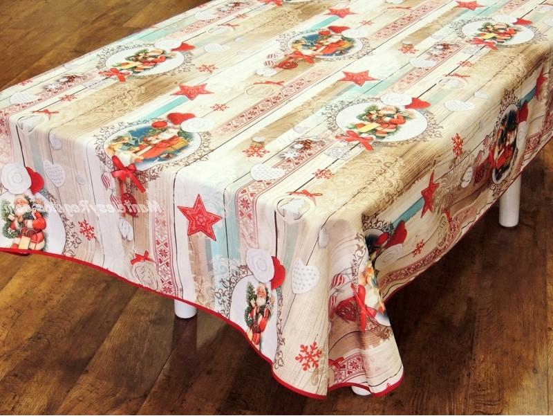 Manteles De Navidad Jxdu Mantel De Navidad Modelo Papa Noel P06 Beige