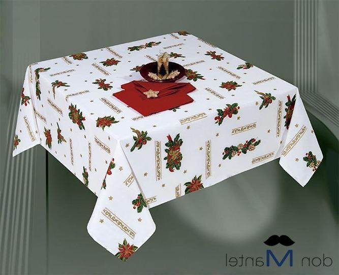 Manteles De Navidad Tqd3 Mantel Navidad Blanco Lazo A Manteles De Navidad Don Mantel