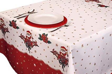 Manteles De Navidad Txdf Exclusivocir Manteles Joyeaux Noel Navidad Pascua Estampados