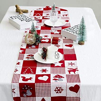 Manteles De Navidad Txdf Supertop 35 170 Cm Mantel De Navidad De Lino Manteles De Navidad