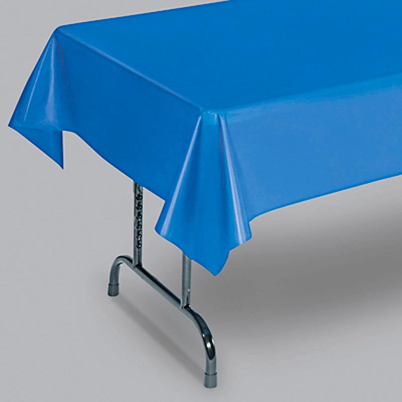 Manteles De Plastico Etdg 6 Manteles De Plastico Tablecloth Azules Para Cafeterias