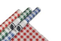Manteles De Plastico Q0d4 Mantel De Plà Stico 5 M X 80 Cm Colores Surtidos Cuadriculado