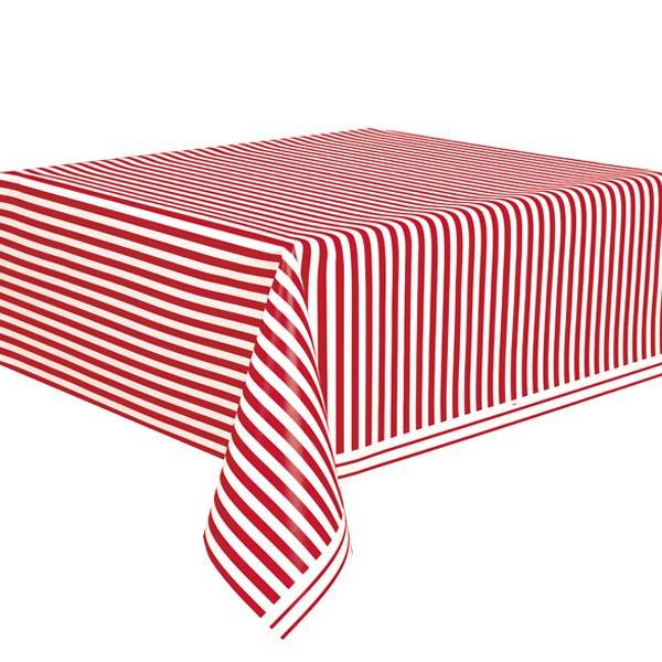 Manteles De Plastico Tldn Prar Mantel De Rayas Rojas Y Blancas Envà Os De 24 A 48 Horas