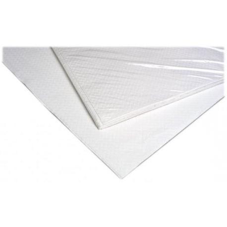 Manteles Desechables Ftd8 Manteles Desechables Un solo Uso Papel Blanco 100x120cms 100 Uds