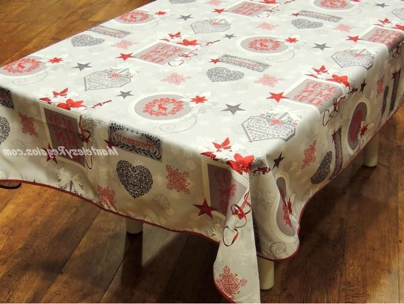 Manteles Plastificados Rldj Mantel De Navidad Modelo Navidad Iniciales P08