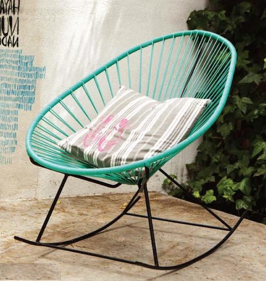 Mecedora Jardin Q0d4 Muebles Terraza Y Jardin Mecedora Decoracià N Chic