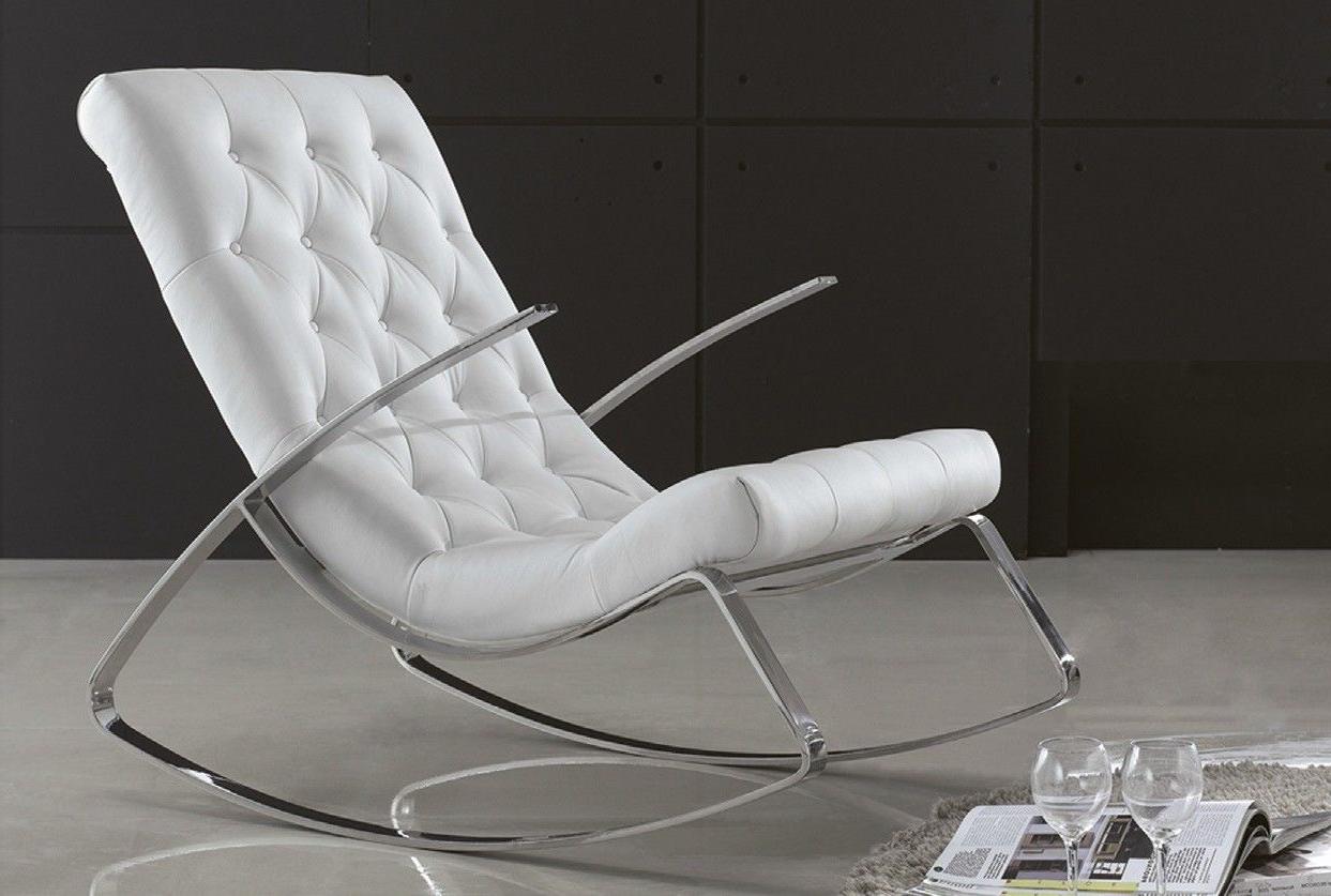 Mecedoras Modernas Irdz Mecedora Moderna Acero No solo Para Sentarse sofa Furniture Y