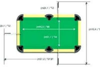 Medidas De Una Mesa De Billar D0dg Official English Pool Table Dimensions Home Decor Mesa