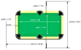 Medidas De Una Mesa De Billar D0dg Official English Pool Table Dimensions Home Decor Mesa