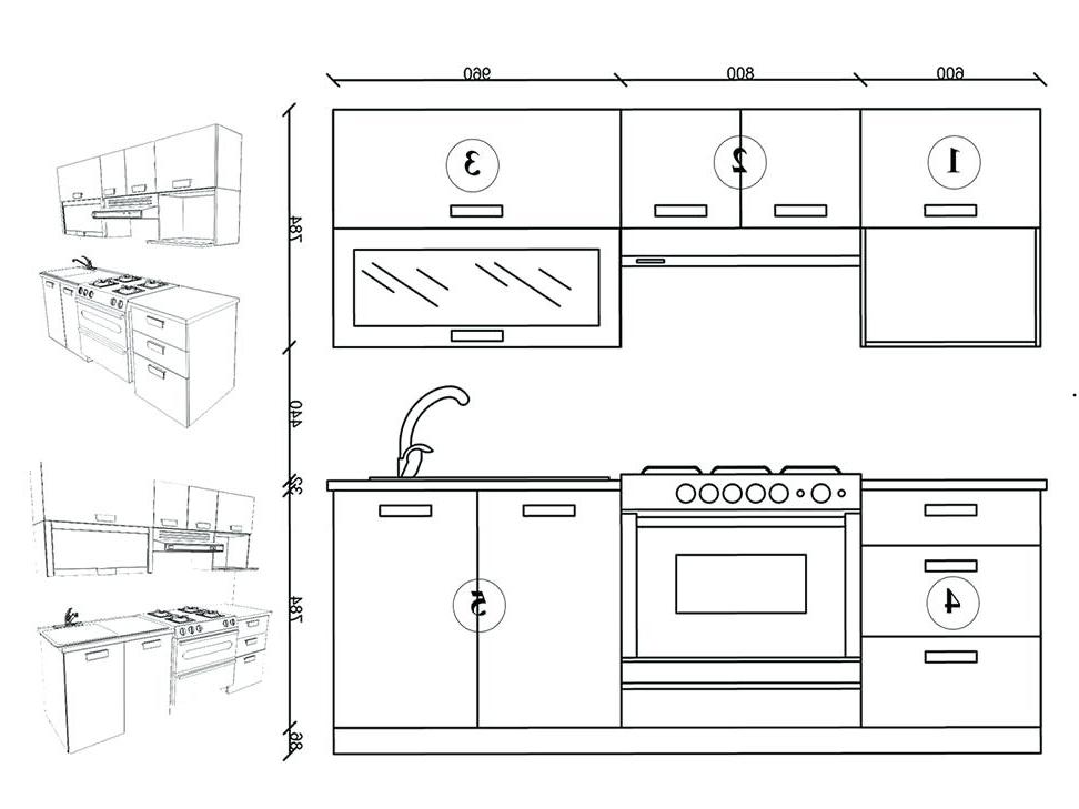Medidas Estandar De Muebles De Cocina 9ddf Medidas Estandar De Muebles Cocina Integral Ferreti Monaco Dise O