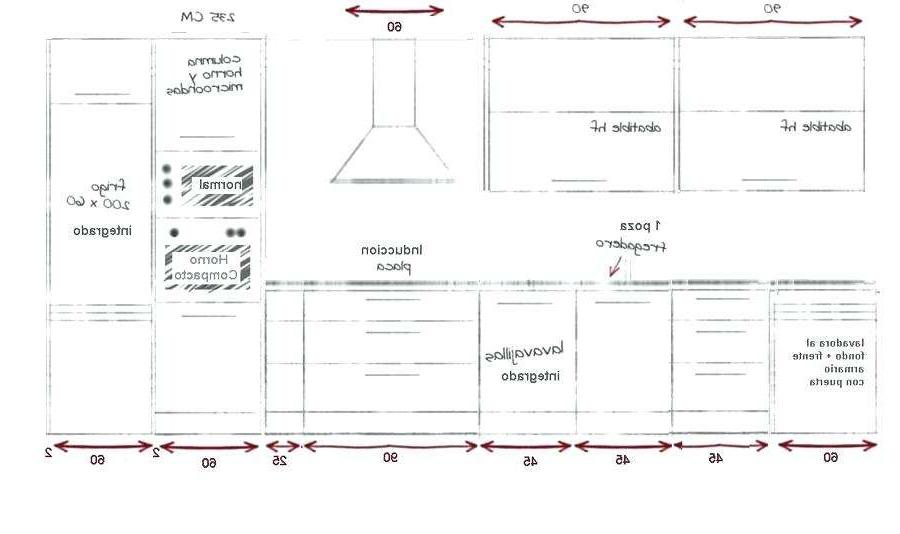 Medidas Estandar De Muebles De Cocina U3dh Medidas Estandar Muebles Cocina Elegante Medidas Estandar De Muebles