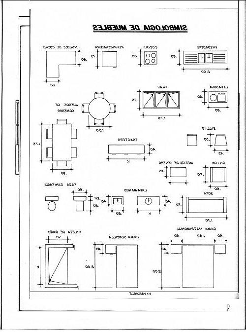Medidas Muebles S5d8 Medidas De Muebles Para Planos Arquitectonicos House Plans In 2018