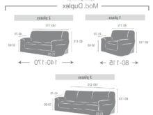 Medidas sofa 2 Plazas Ffdn Funda sofà Duplex Dorian De Eysa
