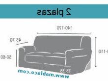 Medidas sofa 2 Plazas Nkde Fundas De sofa Elasticas Guzco