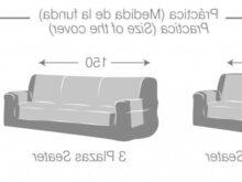 Medidas sofa 2 Plazas X8d1 Funda De sofa Prà Ctica Bianca