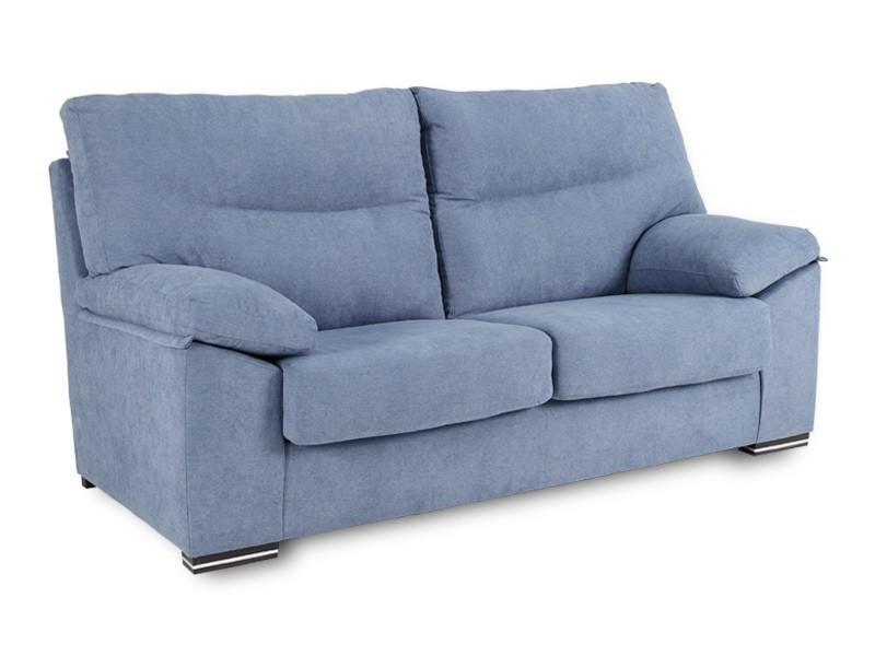 Merkamueble sofas Bqdd sofà De Gran Confort Desenfundable Tapizado En Tejido Lavable Azul