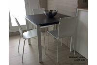 Mesa 80×80 Thdr Mesa Cuadrada Punto Extensible 80×80 Cm Cocina