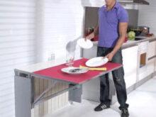 Mesa Abatible Pared Cocina