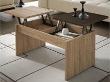 Mesa Abatible Salon S1du Mesas De Centro Conforama