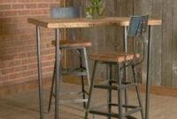 Mesa Alta Cocina J7do 8 Mejores Imà Genes De Mesas Altas En Tu Hogar Industrial Furniture
