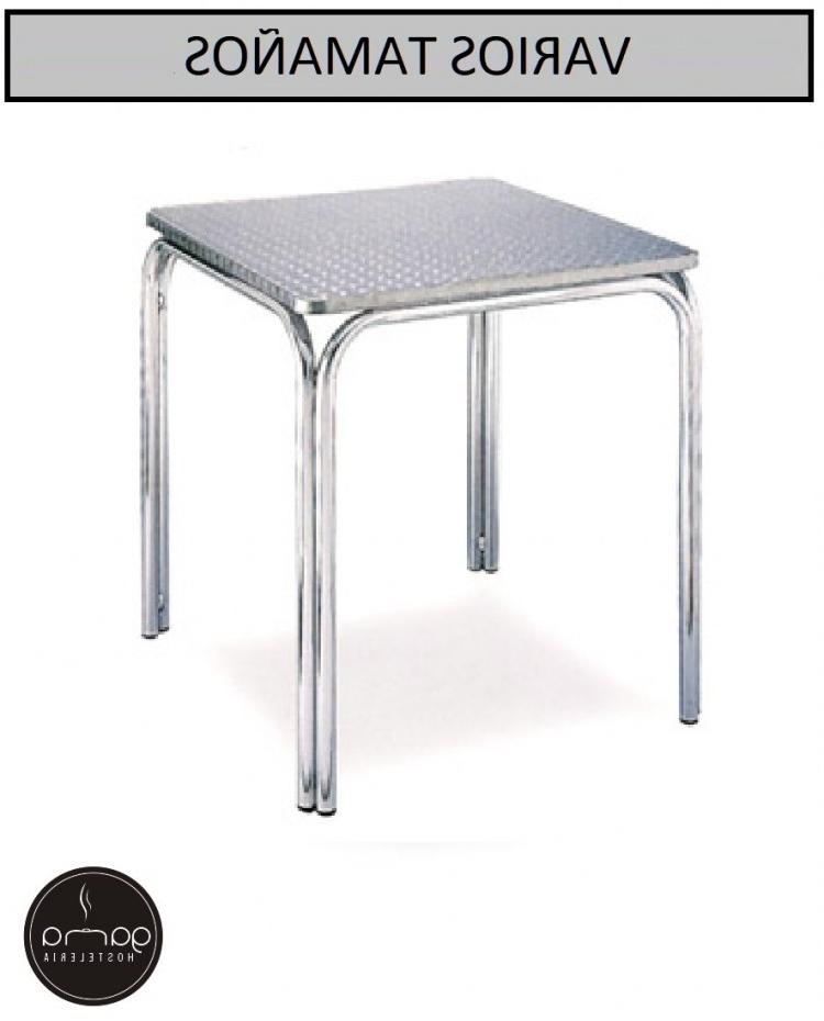 Mesa Aluminio Dddy Mesa De Aluminio Mobiliario Bar Gama Hostelerà A Muebles Romero