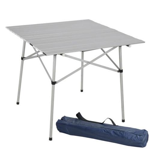 Mesa Aluminio Dwdk Mesa Plegable Rollo De Aluminio Para Camping Barbacoas Uy