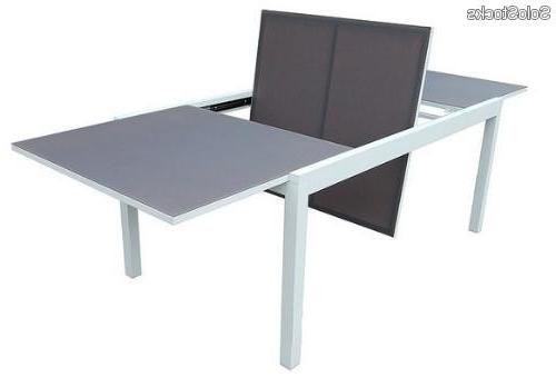 Mesa Aluminio T8dj Mesa Extensible De Terraza Y Jardin Aluminio Selina