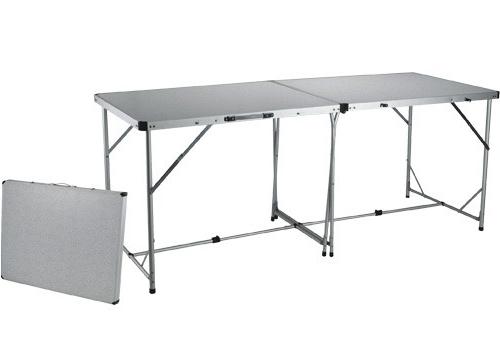 Mesa Aluminio Thdr Mesa Waterdog Plegable Ta 540 Aluminio 240 X 80 X 80cm 6 435 00