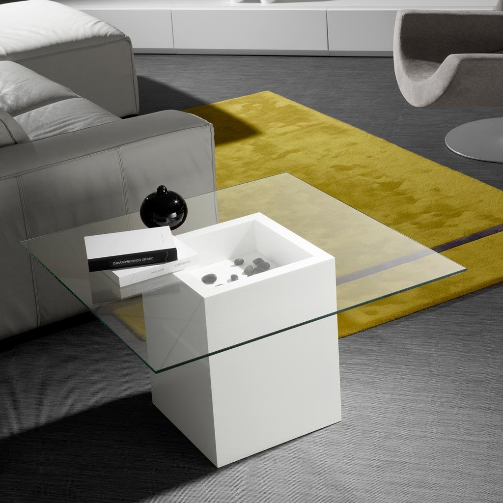 Mesa Auxiliar Comedor X8d1 Esta Es Una Mesa De Centro Cuadrada En Color Blanco Mate