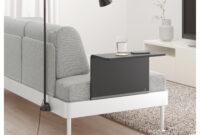 Mesa Auxiliar sofa Thdr Delaktig sofà 3 Con Mesa Auxiliar Y Là Mpara Tallmyra Blanco Negro Ikea