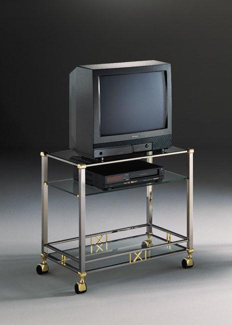 Mesa Auxiliar Tv Ruedas Drdp Mueble De Televisià N De Estilo Moderno Con Ruedas De Metal