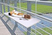 Mesa Balcon 9fdy Mesa De Balcà N Mesa Plegable Mesa Colgante 60 X 40 Cm Mesa De